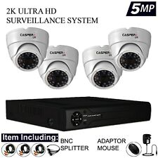 5MP 4CH 8CH CCTV SYSTEM 4K UHD DVR HD OUTDOOR CAMERA HOME SECURITY KIT