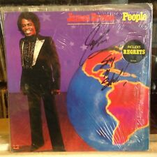 NM LP~JAMES BROWN~People~[Original 1979~POLYDOR Issue]~SIGNED/AUTOGRAPHED COVER!
