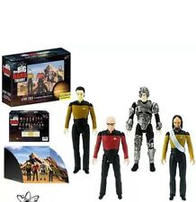 2017 SDCC Exclusive Big Bang Theory + Star Trek Next Generation 3 3/4 Figures