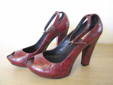 100% Leather Upper Heels 50s Theme