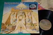 Iron Maiden / Queensrÿche – Powerslave / The Warning BRAZIL MISSPRESS LP 1984