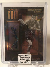 2015-16 Panini Black Gold - Vintage GOLD AUTO #24 Steve Smith 115/149