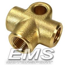 Verteiler 3-fach M10x1,0 (T-Stück) für Bremsleitung / Stahlflexleitung ---T1