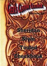 Sheridan Style Tooled Checkbook Video (DVD) by Chan Geer (Leathercraft)