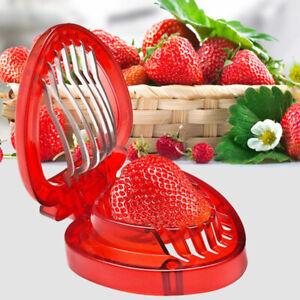 1pc kitchen Fruit gadget strawberry slicer Fruit Cutter Slice Kitchen ToolCAWR
