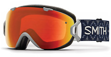 NEW Smith I/OS Goggles-Everyday Woolrich-Red Chromapop+Bonus-SAME DAY SHIPPING!