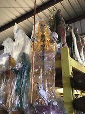 Santa Muerte Color Dorado, Aregalda Para El Dinero 4ft