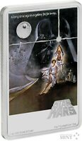 2020 STAR WARS - A NEW HOPE - POSTER - 1 oz Pure Silver Coin - NZ MINT - NIUE