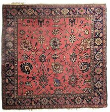 """Antique Turkish carpet. 5'9""""x 6'7"""""""