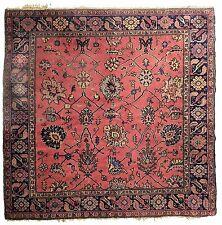 "Antique Turkish carpet. Square shape. 5'9""x 6'7"""