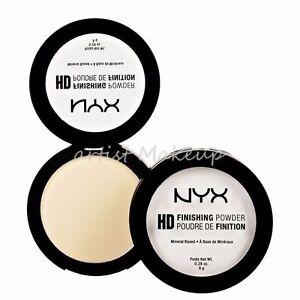 NYX HD Finishing Pressed Powder Choose: Translucent / Banana /Mint green