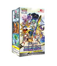 """Pokemon Cards Sun&Moon """"Dream League"""" Booster Box / Korean Ver"""
