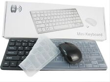 "Black Wireless MINI Keyboard & Mouse for SAMSUNG UE40H6400 Smart 3D 40"" LED TV"