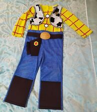 Child's Rubies Woody Sheriff Costume Outfit Dress Up Age 5-6