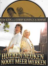 NEW KIDS ft CORRY KONINGS - Hoeren Neuken Nooit meer werken CD SINGLE 1Tr 2011