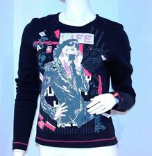 MISS SIXTY ITALY Junior Open BAck TOP Long Sleeve SHIRT FREE SHIPPING