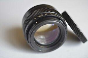Soviet USSR Lens UNDUSTAR - 100 U  4/110 for Photo erlanger Macro Studio, M-39