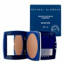 NATURAL GLAMOUR Pressed Bronzer Compact WINTER - SPF 12 -