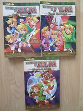 LEGEND ZELDA LOT 3~Akira Himekawa~FOUR SWORDS~MAJORA'S MASK~Nintendo~GRAPHIC NOV