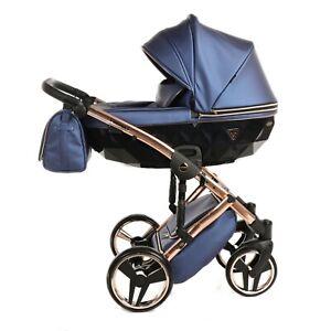 Limited Junama Diamond FLUO Line 01 Baby Pram Stroller Pushchair Travel System