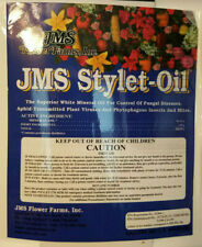 1 Oz Ounce Jms Stylet-Oil Lanternfly Mites Aphids Fungicide Powdery Downy Mildew