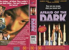 AFRAID OF THE DARK - VHS - PAL - NEW - Never played! - Original Oz release