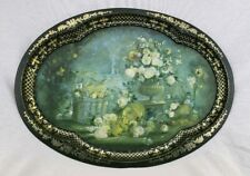 Antique Patricia Machin Tray Made In England Chatsworth, Derbyshire Autumn