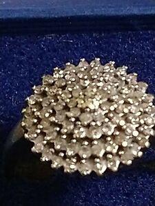 Vintage 9ct Diamond Ring