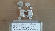 15mm Battle Honors  WWII British Dailmer Armored Car