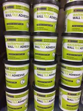 Wall Tile Adhesive 1Litre Waterproof/Mould Resistant/Strong Non-Slip 2.7m2 @ 3mm