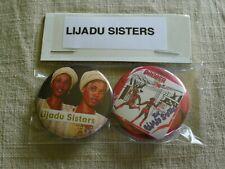 Lijadu Sisters (2) Pinback LOT world music AFROBEAT ofege tunji oyelana funkees