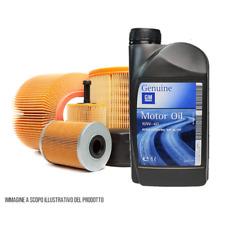 KIT TAGLIANDO 5 LT OLIO 10W40 + 3 FILTRI NISSAN MICRA K11 1.5 Diesel dal 1998