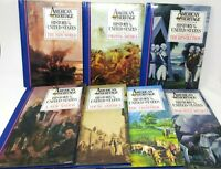 AMERICAN HERITAGE Illustrated History of The US Book SET 1988 VOLUMES 1-7 - HC