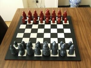 A Fascinating Medieval Isle Of Lewis Chess Set Chessmen 2 NO BOARD INCLUDED