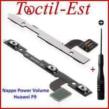 Pour  Huawei P9 Nappe des Boutons Power Volume ON/OFF + tournevis Aimanté