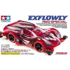 TAMIYA 1:32 MINI 4WD EXFLOWLY RED SPECIAL MA CHASSIS CON MOTORE  ART 95339
