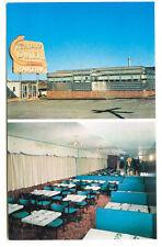 Ridgefield NJ Turnpike Diner Duo View Telephone Booth Vintage Postcard