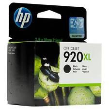 HP 920 XL, BLACK, OVP; KEIN REFILL, MHD 08/2018, Rechnung m. Mwst.