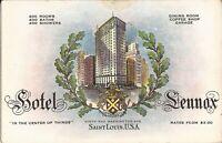 St. Louis, MISSOURI - Hotel Lennox - ADVERTISING