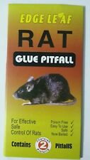 PACK OF 2 X MOUSE RAT PEST TRAP SAFE EFFECTIVE