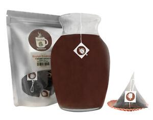 English Breakfast Pyramid Sachets Herbal Loose Leaf Tea ICED or HOT