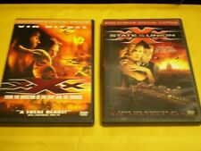.(2) Xxx Dvd Lot: Xxx & State of the Union Vin Diesel Ice Cube