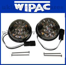 LAND ROVER DEFENDER - WIPAC LED INDICATOR SMOKE 73mm - XFD500050, S7003LED WIPAC