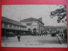 LYON  :  La Gare de Perrache.....VO.1911.