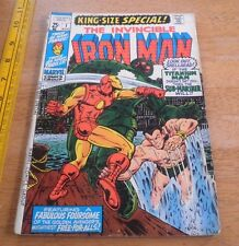 The Invincible Iron Man - King Size Special #1 FN