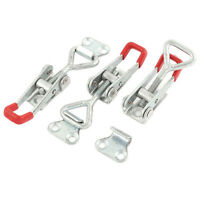 2Pcs Large Metal Rubber Toggle Over Centre Latch Tool Box Truck Trailer Ute