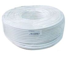 ELECTRIC CABLE MULTIPOLAR BIPOLAR PVC WHITE 2X0,75 PRICE FOR 2 METERS CABLE