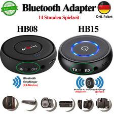 Bluetooth Adapter Audio Sender Empfänger Stereo 3,5mm Aux Receiver für Home Auto