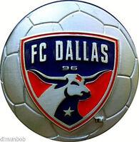 FC Dallas MLS Belt Buckle Soccer
