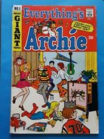 1969 Everything's Archie #1 Fine- (5.5) Betty Veronica Giant Size The Archies